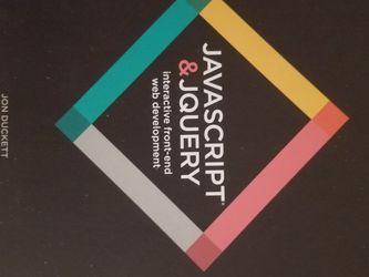 Javascript / JQuery Book for Sale in Albuquerque,  NM