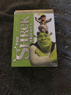 The shrek trilogy for Sale in Murrieta, CA