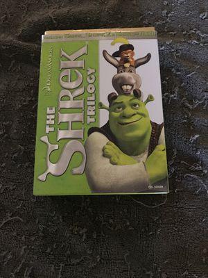 The shrek trilogy for Sale in Murrieta, CA