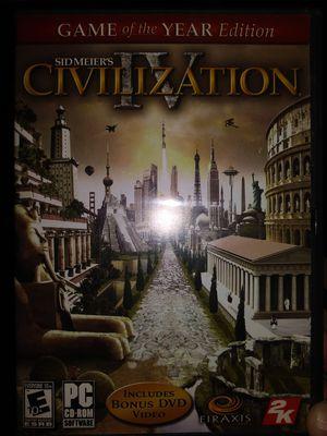 Sid Meier's Civilization IV for Sale in Colorado Springs, CO