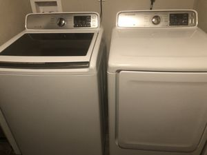 Samsung VRT plus HE washer and dryer set for Sale in Commerce City, CO