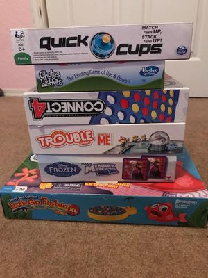 6 Board Games Retail Value =$93 for Sale in Albuquerque, NM