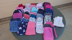GIRLS PANTS 39 PAIRS (18mo) $1.50each for Sale in Escondido, CA