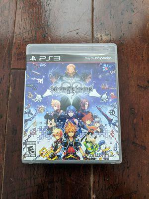 Kingdom Hearts 2 Remix PS3 game. for Sale in Murrieta, CA