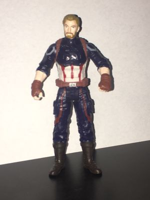 Hazbro infinity war captain America for Sale in Fort Worth, TX