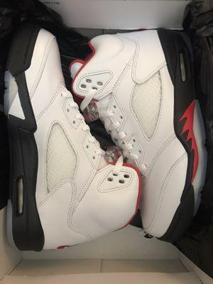 Brand new never been worn Nike Air Jordan 5 retro Men's Size 8 for Sale in Newark, CA