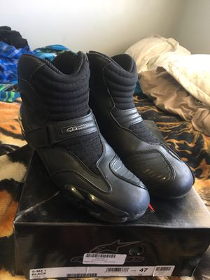 Used and really good condition Alpine Star S-MX-1 Size 12men with the Box. $60 Firm for Sale in Hawthorne, CA