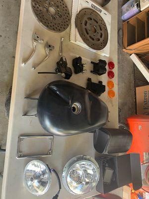 Assorted Harley Davidson parts for Sale in San Bernardino, CA
