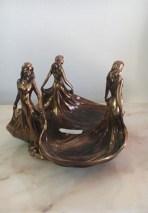 Candy dish with three women for Sale in Los Angeles, CA