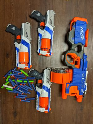 NERF: lot of guns and darts for Sale in Pompano Beach, FL