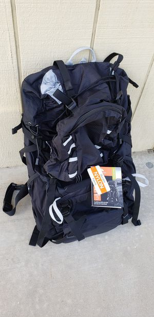 HIKING CAMPING BACKPACK 45 Liter GEAR BRAND NEW for Sale in Fresno, CA