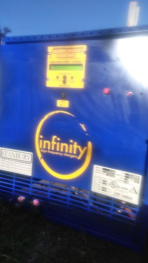 Battery infinity high frequency charger forklift for Sale in South Hill, WA