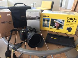 Nikkor lenses and D40x body for Sale in Miami, FL