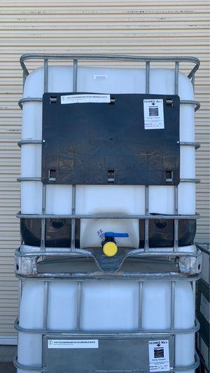 275 Gallon IBC Tote Caged Clean for Sale in Visalia, CA