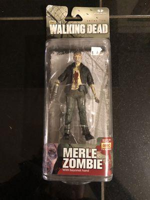 The Walking Dead Merle zombie action figure for Sale in Alexandria, VA