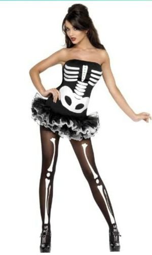 Woman Sexy Skeleton Costume for Sale in Bell Gardens, CA
