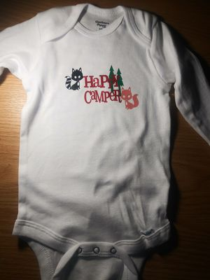 Happy camper onesie for Sale in Davison, MI