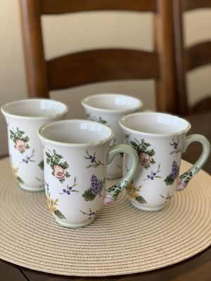 Princess House Vintage Garden Mug set for Sale in Pico Rivera, CA