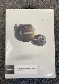 New!!! Sealed & never opened!!! Bose - SoundSport Free True Wireless Headphones - Black. Pick up only for Sale in Los Angeles,  CA