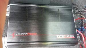 Precition power 2,000 watt amplifier for Sale in Frostproof, FL