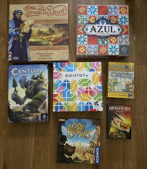 Modern Board Games For Sale for Sale in Austin, TX