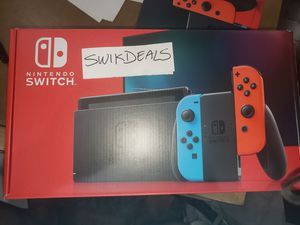 Brand new Nintendo Switch V2 32gb with new case for Sale in Elk Grove, CA