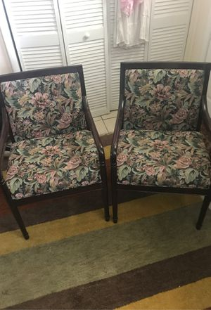 Pair of Chairs for Sale in Fort Washington, MD