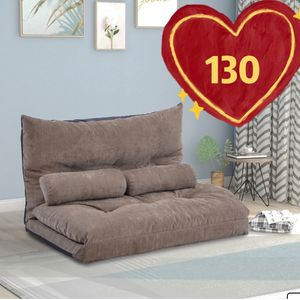 Brand New! Floor Sofa Bed, 71*43inch,Adjustable Floor Couch and Sofa, Foldable Chaise Lounge Sofa Chair with 5 Reclining Position, Lazy Sofa for Sale in Hacienda Heights, CA