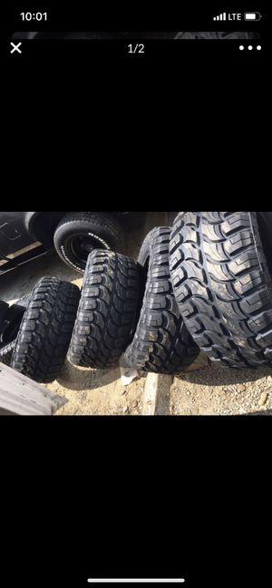 New 33x12.50R20 RDR TIRES (4) tacoma , tundra , Silverado , f150 for Sale in San Diego, CA