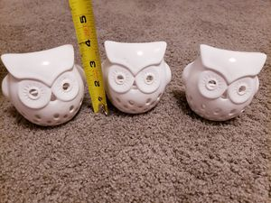 Owl candle holder decor for Sale in South Pasadena, CA