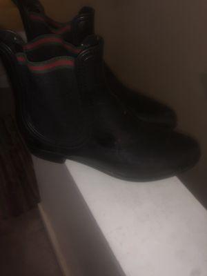 Gucci Rain Boots Size 39 for Sale in Philadelphia, PA