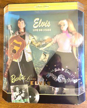 1996 Mattel Collector Edition Barbie Loves Elvis Gift Set No.17450 for Sale in Davis, CA
