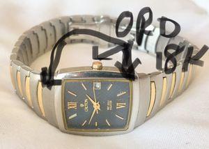 Reloj de mujer con Oro 18k sólido y acero inoxidable for Sale in Miami, FL