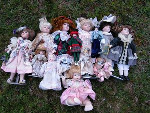 Porcelain Doll Collection for Sale in Presque Isle, ME