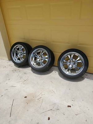 Tires and rim two 285 35 18 and one 245 40 18 for Sale in Coral Springs, FL