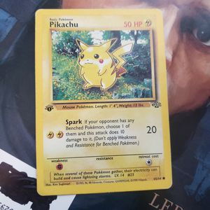 1st Edition Pikachu Jungle Set 60/64 for Sale in Buena Park, CA