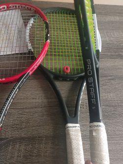 Tennis Rackets 3. Prostaff for Sale in Gilbert,  AZ