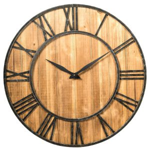 Antique Style Decorative Round Wall Clock for Sale in Arcadia, CA