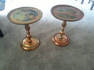2 Neiman Marcus End Tables for Sale in Dallas, TX