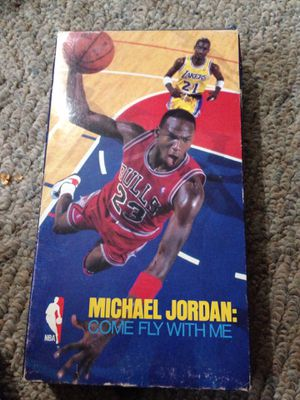 Michael Jordan come fly with me VHS est. 1989 for Sale in Kansas City, MO