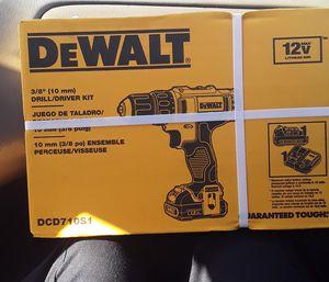 Dewalt drill driver kit brand new for Sale in Lakeland, FL