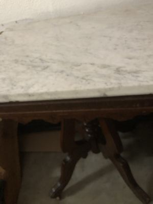 Antique vintage dresser and end table. Worth more than I'm asking but I just want to give someone a good deal and get it out of my garage. for Sale in Dana Point, CA