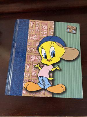Vintage tweety bird binder and notebooks for Sale in Norwalk, CA