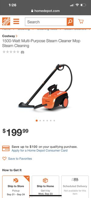 Steam cleaner for Sale in Fullerton, CA
