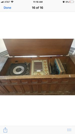 Beautiful Antique Stereo System!! for Sale in Detroit, MI