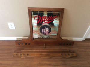 VINTAGE MILLER HIGH LIFE BILLIARDS/POOL CUE STICK STAND for Sale in Lawley, AL