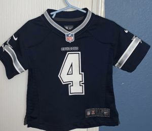 Size 3T Cowboys jersey, 2 jackets, jeans, pants and sweater for Sale in Dallas, TX