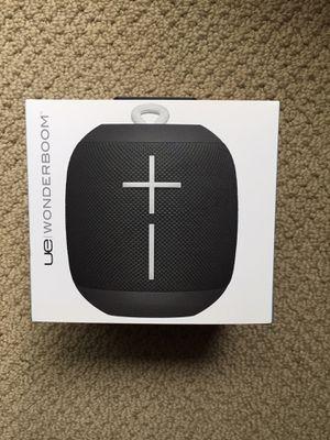 UE Ultimate Ears WONDERBOOM Portable Waterproof Bluetooth Speaker- Phantom black NEW for Sale in Issaquah, WA