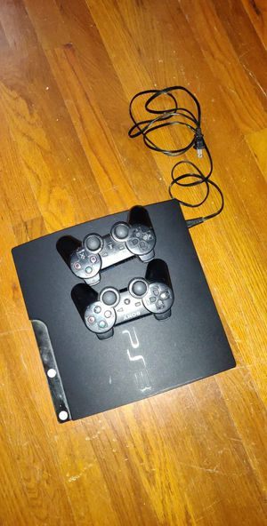 PS3 with 2 controllers and 22 games for Sale in Pitman, NJ