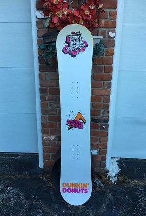 Dunkin' Donuts snowboard for Sale in Scituate, RI